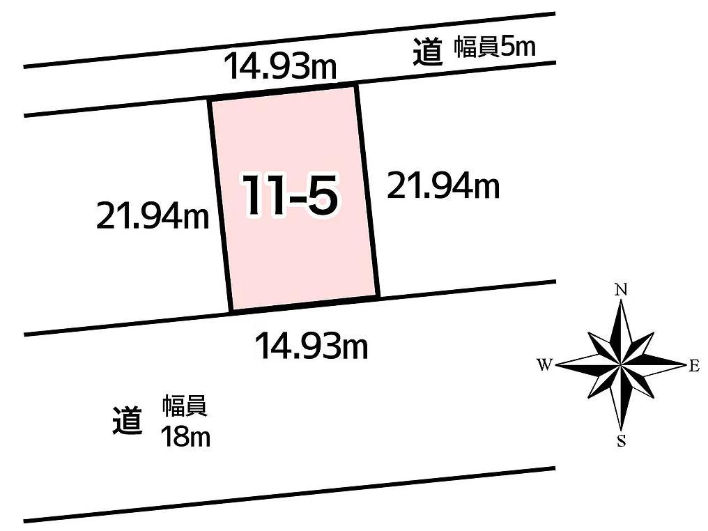 池田町利別本町11番5敷地図