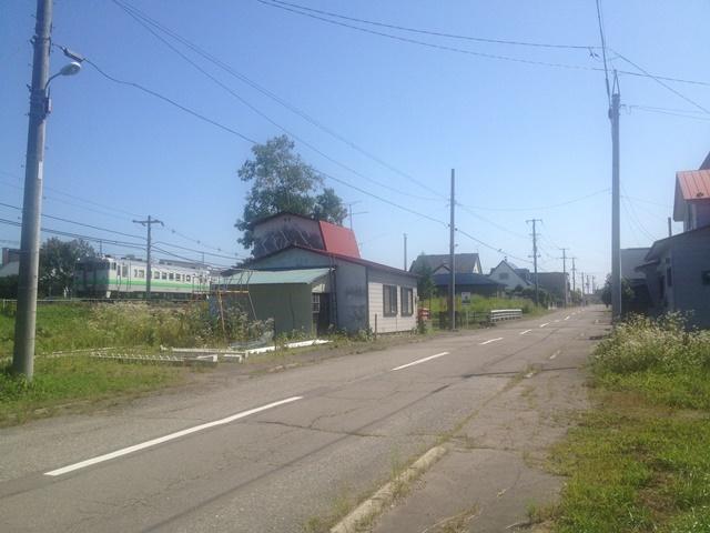 池田町西1条8丁目99道路向かいJR根室線