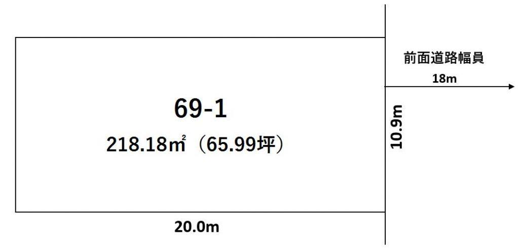 幕別町本町69-1敷地図