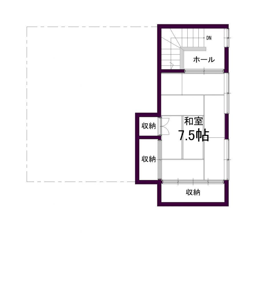 幕別町本町69-1_2階平面図