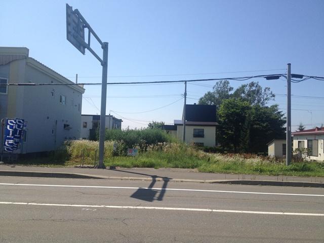 池田町字利別西町2番地外観東側から