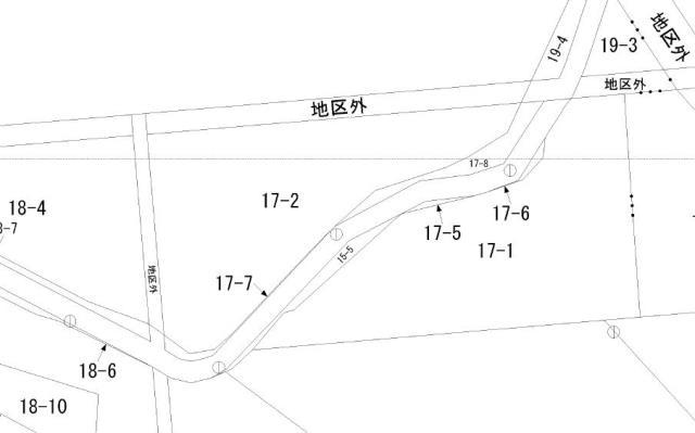 芽室町北明西七線17-2地図