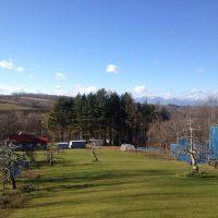 芽室町北明西七線17-2より日高山脈が見えます