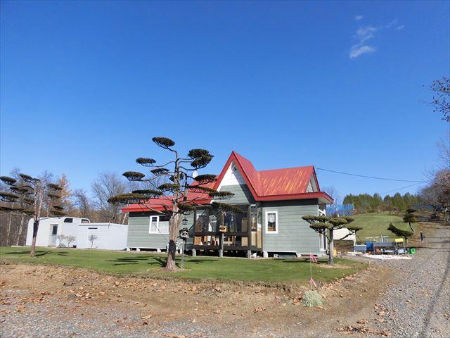 芽室町北明西7線17-2_小屋外観