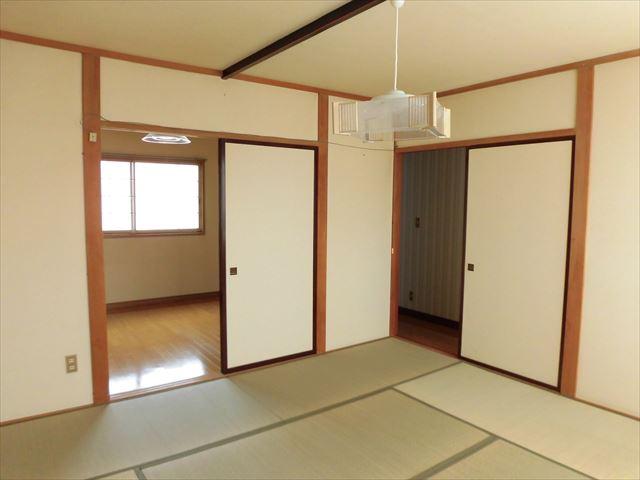 コーポ内柴D号室_2階和室、洋室側
