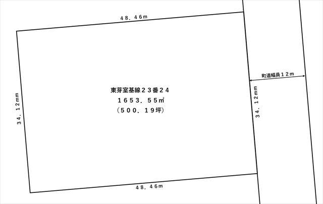 芽室町東芽室基線23-24_敷地図