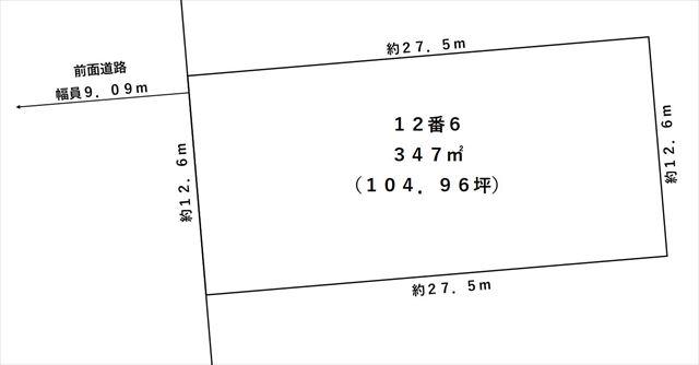 帯広市西14条南2丁目2-6敷地図