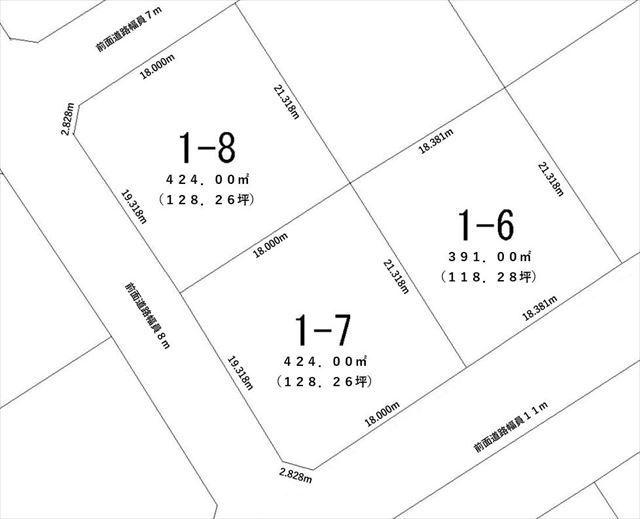白糠町西2条北1丁目_敷地図