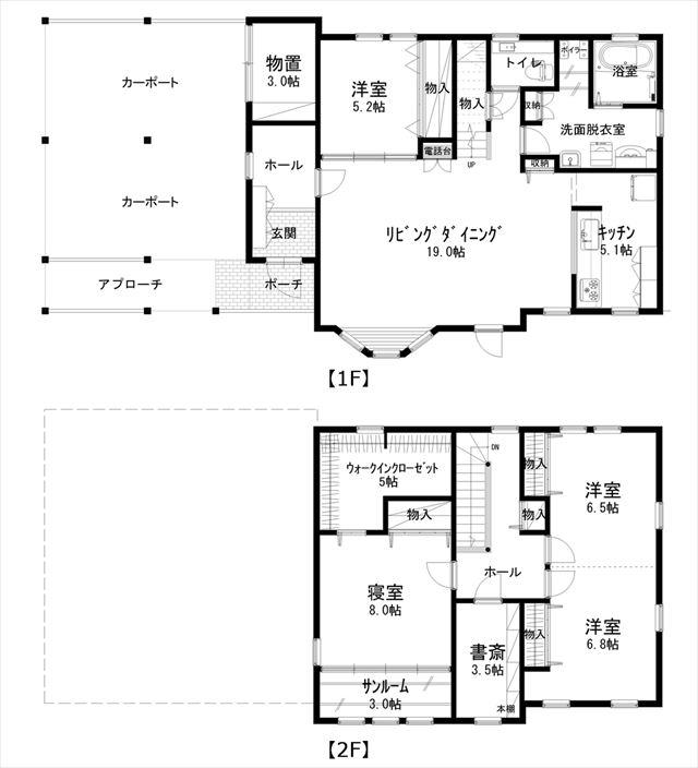 音更町駒場南2条通7-17_平面図