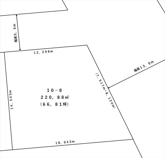 【敷地図】音更町南鈴蘭北3丁目10-8