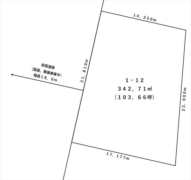 【敷地図】本別町北6丁目1-12