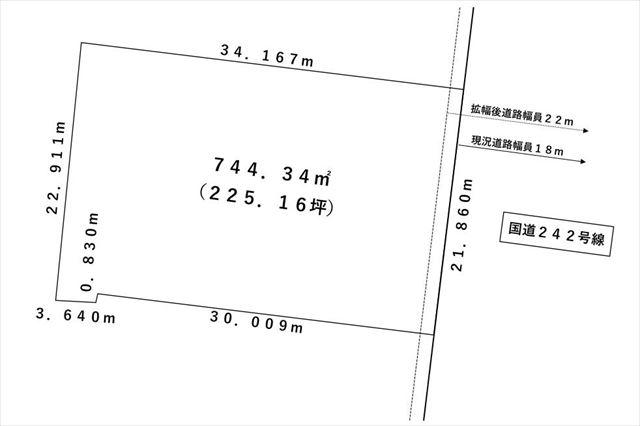 【敷地図】音更町木野大通西5丁目1-6他