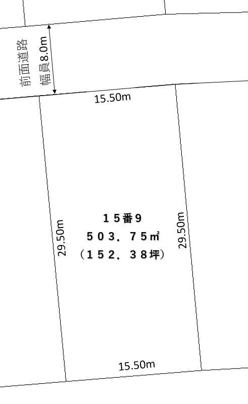池田町字旭町5丁目15-9_敷地図